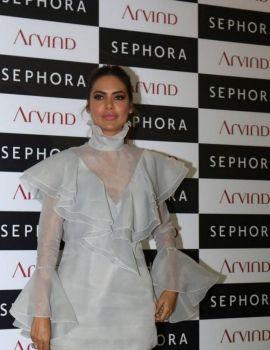 Esha Gupta Stills at Sephora Brand Store Launch in Kolkata