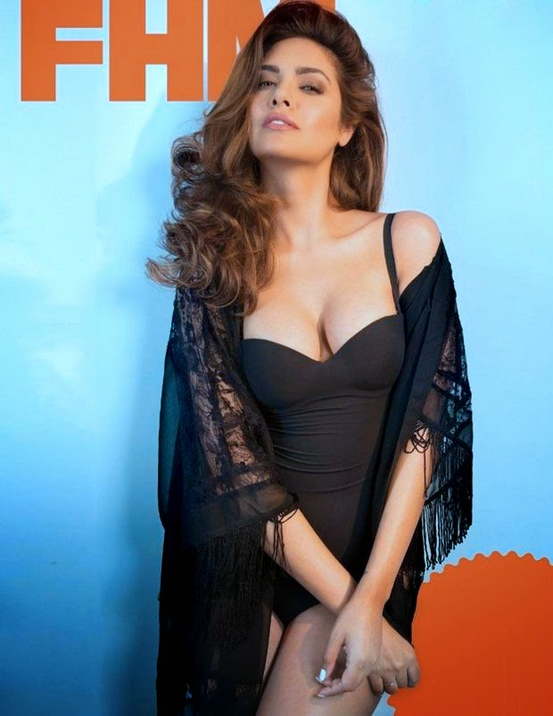 Esha Gupta Stills FHM Magazine November 2014
