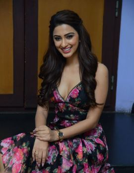 Eshanya Maheshwari Photos at Namaste Nesthama Movie Trailer launch
