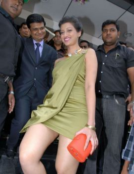 Hamsa Nandini at Cellphone Showroom Launch at Banjara Hills