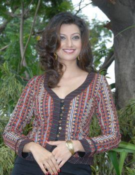 Telugu Actress Hamsa Nandini Stills at Tea Samosa Biscuit Movie Opening