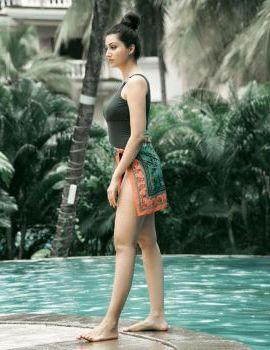 Telugu Actress Hamsa Nandini Stills in swimsuit