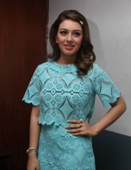Hansika Latest Photoshoot At Romeo Juliet Movie Press Meet