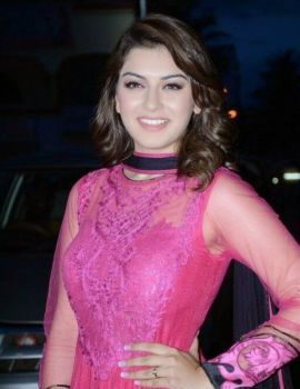 Hansika Motwani at Aranamanai Audio Launch