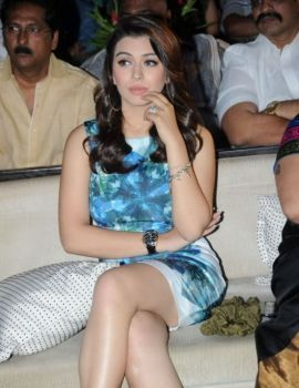 Hansika Motwani at Telugu Movie Something Something Audio Launch