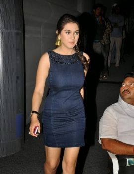 Hansika Motwani Short Dress at Biriyani Movie Audio Launch Function