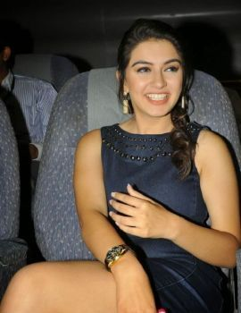 Hansika Motwani Short Dress at Biriyani Movie Audio Launch Function