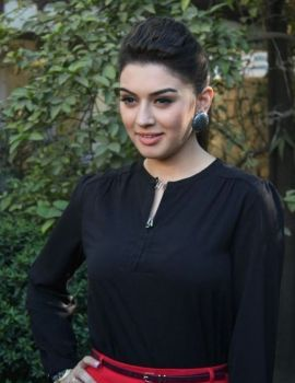 Hansika Motwani Stills at Settai Press Meet
