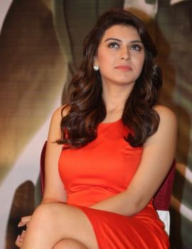 Hansika Motwani Stills in Singam 2 Movie Press Meet
