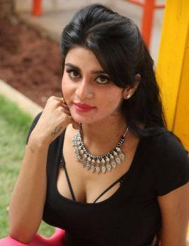Telugu Actress Harini Photos at Dyavuda Movie Teaser Launch