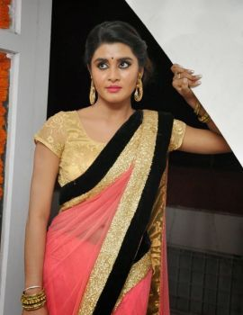 Telugu Heroine Harini Photos at Valayam Movie Opening