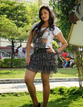 Galata Movie Heroine Hari Priya Stills in Mini Skirt