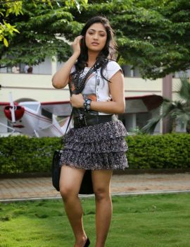 Galata Movie Heroine Hari Priya Stills in Mini Skirt