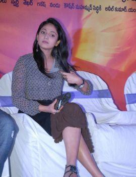 Hari Priya at Abbai Class Ammai Mass Audio Launch