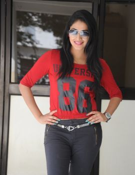 Hari Priya Stills at Ee Varsham Sakshiga Movie Success Meet