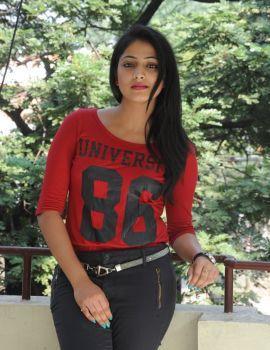 Hari Priya Stills at Ee Varsham Sakshiga Movie Success Meet