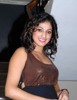 Haripriya in Pilla Zamindar Audio Release Event