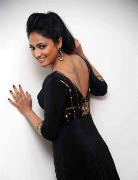 Haripriya Stills in Black Dress at Bharjari Movie Press Meet