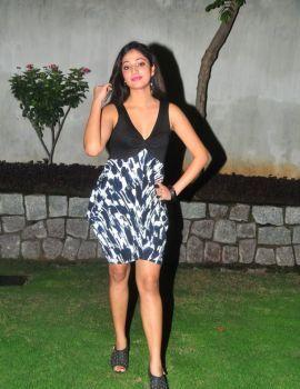 Telugu Actress Haripriya Stills in Tollywood Magazine Launch