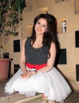 Harshika Poonacha at Appudala Ippudila Audio Success Meet