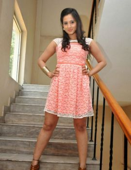 Harshika Pooncha Photos at Appudu Ala Ippudu Ila Movie Trailer Launch