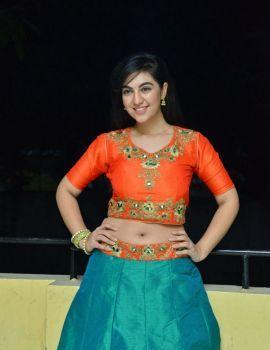 Telugu Actress Harshita Panwar at Bewars Movie Success Meet