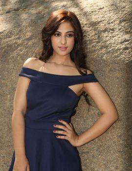 Harshitha Singh Stills at Satya Gang Movie Opening