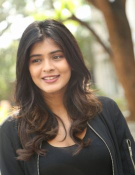 Hebah Patel Photos at Ekkadiki Pothavu Chinnavada Movie Thanks Meet