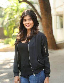 Hebah Patel Photos at Ekkadiki Pothavu Chinnavada Movie Thanks Meet