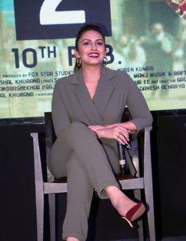 Huma Qureshi at Jolly LLB 2 Press Meet in Hyderabad