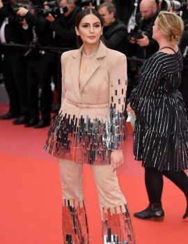 Huma Qureshi at Sorry Angel Premiere During 71st Cannes Film Festival