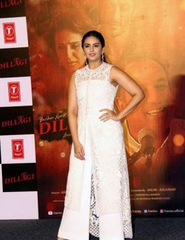 Huma Qureshi Stills at Dillagi Movie Song Launch