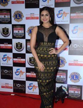 Huma Qureshi Stills at Lions Awards 2016