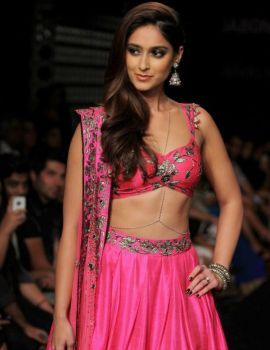 Ileana D'Cruz on Ramp at Lakme Fashion Week