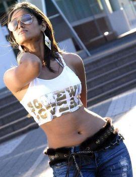 Ileana hot Navel Show Stills in Jeans