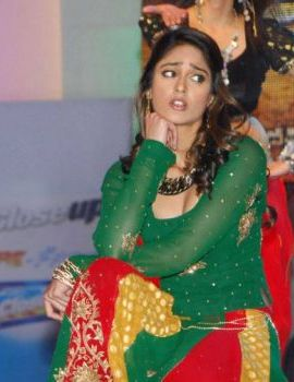 Ileana Stage Performance at Shakthi Audio Release Event