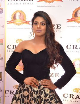 Tamil Actress Iniya at Dadasaheb Phalke Awards South 2019 Red Carpet