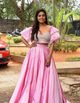 Tamil Actress Iniya Photos at Mamangam Movie Trailer Launch