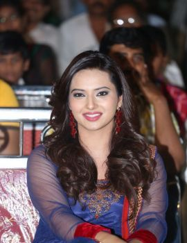 Isha Chawla Stills at Jump Jilani Audio Launch
