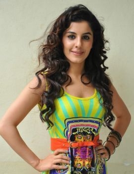 Isha Talwar Latest Stills in Green Dress