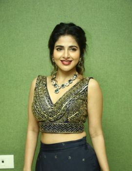 Iswarya Menon Stills at Naan Sirithal Movie Audio Launch