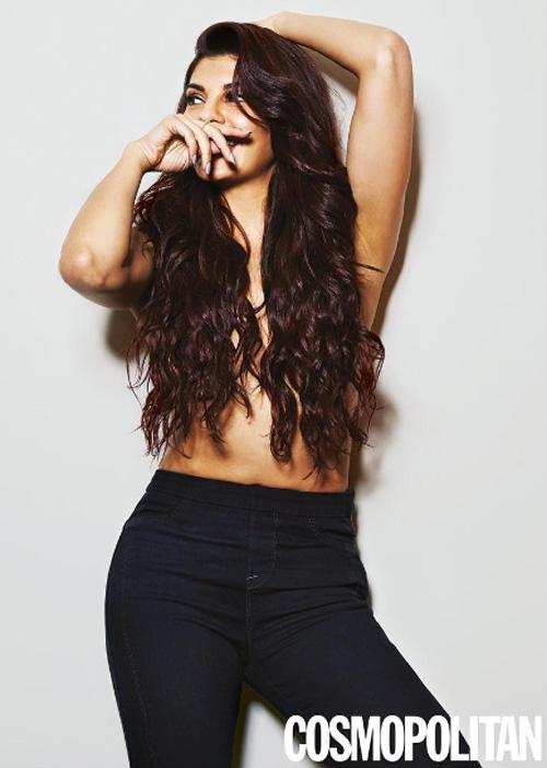 Jacqueline Fernandez poses for Cosmopolitan Magazine
