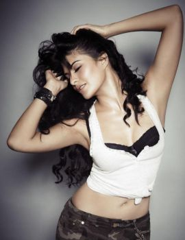 Jacqueline Fernandez's Photoshoot for FHM India June 2013