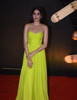 Janhvi Kapoor Stills at Kuch Kuch Hota Hai 20th anniversary Celebrations
