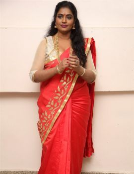 Jayavani at Intlo Deyyam Nakem Bhayam Trailer Launch