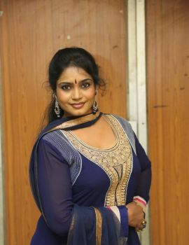Telugu Actress Jayavani at Golden Chance Movie Audio Release