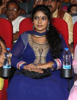 Telugu Actress Jayavani at Golden Chance Movie Audio Release