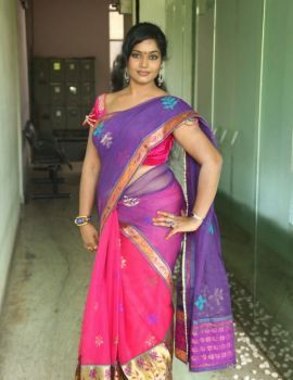 Telugu Actress Jayavani at Rajamahal Movie Pre-Release Press Meet