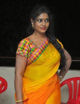 Telugu Actress Jayavani Stills at Andamaina Maya Audio Launch