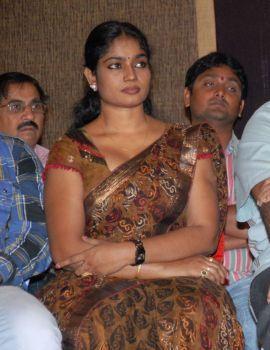 Telugu Actress Jayavani Stills at Srimannarayana Success Meet